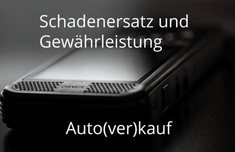Autokauf: Sichern Sie sich ab!